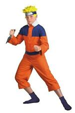CHILDRENS BOYS TV & MOVIE CHARACTERS NARUTO DLX FANCY DRESS COSTUME - 2 SIZES