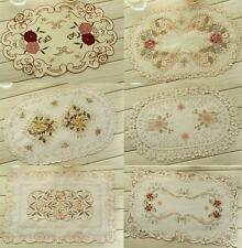 """Various Designs Flowers Embroidered Table Place Mat 11x17"""" Home Kitchen Decor"""