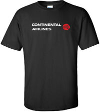 Continental Airlines Retro Logo '69-'91 US Airline T-Shirt