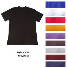 Big and Tall Greystone Plain Crew Neck T-shirts (#101)