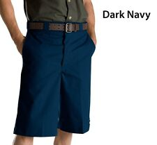 Dickies WR815 13'' Dark Navy Pin Stripe Shorts with Cellphone Pocket All Sizes