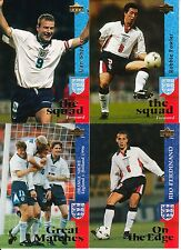 Upper Deck 1998 England: The England Card Collection - Cards # 42 - 82!