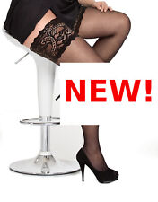 PLUS SIZE THIGH HIGH HOLD UPS stay-up stockings 22 24 26 28 30 32 34 2X 3X 4X 5X
