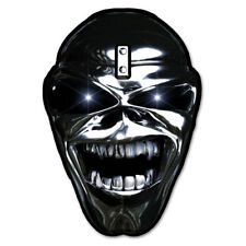 Iron Maiden Eddie Chrome Vynil Car Sticker Decal - Select Size