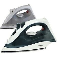 1300 WATT STEAM SPRAY IRON ELECTRIC COMPACT STAINLESS STEEL NON-STICK SOLEPLATE
