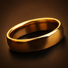 Lord of the Rings Hobbit Mens Tungsten Gold with FREE Chain & Shipping ONE Ring
