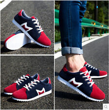 men's breathe flat round toe lace casual shoes sports shoes board shoes c1120