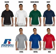 Russell Athletic Mens Dri-Power Raglan T-Shirt Workout Performance S-3XL 629DPM