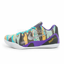 Nike Kobe IX EM XDR [653972-500] Basketball Unleashed Purple/Silver-Mango