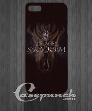 Skyrim The Elder MZ 2 FOR 3D iphone 4 4g 4s 5 5s 5c HTC One M7 back cover case