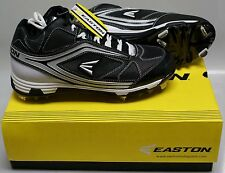NEW in Box  Easton Phantom MD Team Baseball Metal Cleats Spikes BLACK  SIZE 11