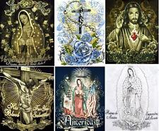 New Wholesale Lot - 12 Pcs Catholic Religious T Shirts Assorted Prints ( ECATTS)