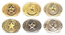 State of Texas Lone Star State Logo Western Rodeo Belt Buckle
