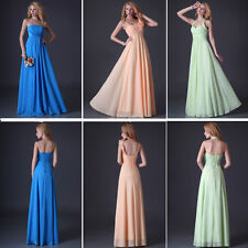 Luxury Stunning Bridesmaids Wedding Party Gown Women Cocktail Long Maxi Dresses