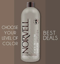 Norvell Sunless Spray Tanning Solutions: CHOOSE COLOR. Sunless Airbrush Tan 34oz