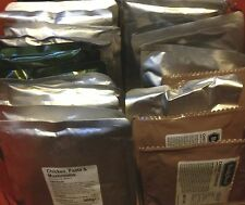 Ready To Eat Meals MRE Camping Food Scouts DofE Army Ration Packs British Vestey