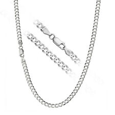 925 Sterling Silver Men's Italian 4.5mm Cuban Curb Link Chain Necklace ALL SIZES