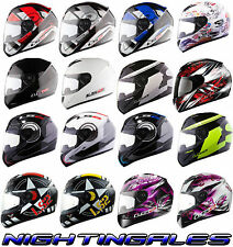 Casque Moto Intégral LS2 F351 Solid Atmos Fluo BD Loup