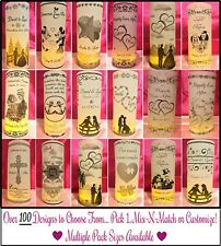 Personalized Wedding Party Luminaries Lanterns Table # Centerpieces Decorations
