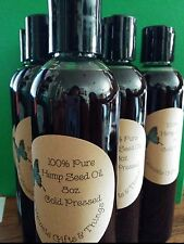 Pure HEMP Seed Oil Cold Pressed/Free Shipping