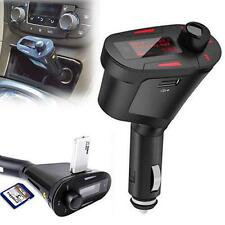 Car Kit MP3 Player Wireless FM Transmitter Modulator USB SD MMC LCD Charger New