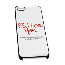 Cover for iPhone 4/5 Case #138 - P.S I love you Gift Idea romantic girlfriend