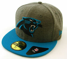 New Era Cap 59Fifty Carolina Panthers NFL Jersey Team Grey/Blue Fitted Hat NY