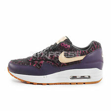 Nike WMNS Air Max 1 PRM [454746-500] NSW Running Purple/Linen-Black