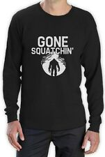 GONE SQUATCHIN FINDING SASQUATCH BIGFOOT Long Sleeve T-Shirt RESEARCH TEAM YETI