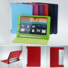 Slim PU Leather Case Stand Cover For Lenovo Yoga Tablet B6000 8'' B8000 10'' PDA