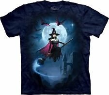 Witch's Flight Adulto  Fantasy Unisex T Shirt The Mountain