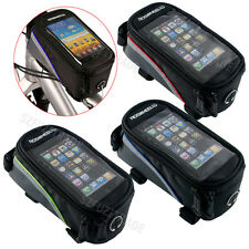 New Cycling Bike Bicycle Frame Front Tube Bag Pouch Holder For iPhone 5 5S 5C
