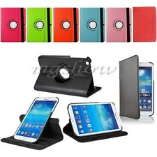 Rotating Leather Case Cover Stand For Samsung Galaxy Tablet 3 P5200 T310 T210