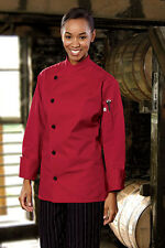 Rio chef coat, white, black or red, sizes from XS to 6XL, 0482