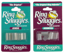 Ring Snuggies Loose Ring Adjusters Sizers Jewelry Silver Gold - VALUE PACKS!