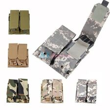 New Tactical MOLLE/PALS Double Stack AR/AK Magazine Pouches, Mag Pouch