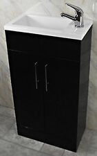 Slim vanity unit ebay - Slim cloakroom basin ...