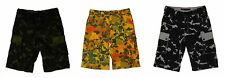 ROCAWEAR Mens 5 Boro Camo Cargo SHORTS NWT pick size & color Green Black Yellow