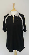 Mens Tenn Squash Tennis Breathable Short Sleeve Shirt Top Size Extra Large New