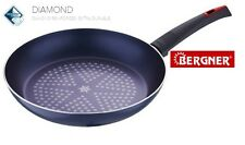 Bergner Diamond Coated Non Stick Frying Pan Induction Better Than Ceramic