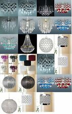Chandelier Chic Ceiling Lights Pendant Light Shade Crystal Droplet Light Fitting