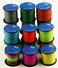 100M 300M 500M 1000M Strong 100% PE Dyneema Multicolor Braided Fishing Line