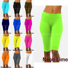 Ladies Casual Sexy Stretch Biker Shorts Workout Spandex Tights Leggings XS,S,M,L