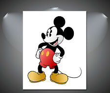 Vintage Mickey Mouse Poster - A1, A2, A3, A4 available