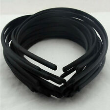 9MM PLASTIC HEADBAND COVERED SATIN KWEL WHOLESALE LOTS HAIR BAND ACCESSORY