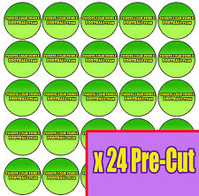 24 Uk Football Team Badge Cup Cake toppers PRE-CUT Edible Rice / Wafer Paper