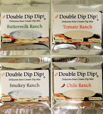 Dip Mixes Double Dip Dip! Delicious Sour Cream Dip Mixes