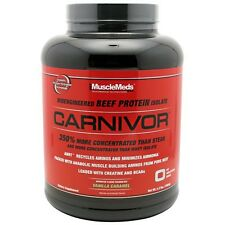 Muscle Meds: CARNIVOR (4  lbs.) BEEF PROTEIN. BCAA. CREATINE.  GLOBAL SHIPPING!