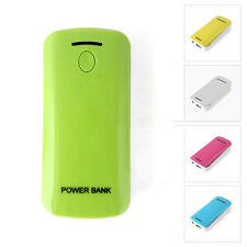 USB 2x 18650 Battery Charger Power Bank For Phone MP3 With LED Flashlight
