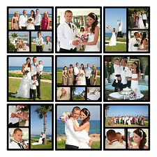 Contemporary Photo Collage Canvas Print Montage - Quality Wedding Gift Wall Art